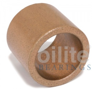 AM162016 Plain Metric Oilite Bearing