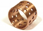 GYF10050H Flanged CuSn8 Bronze bushing